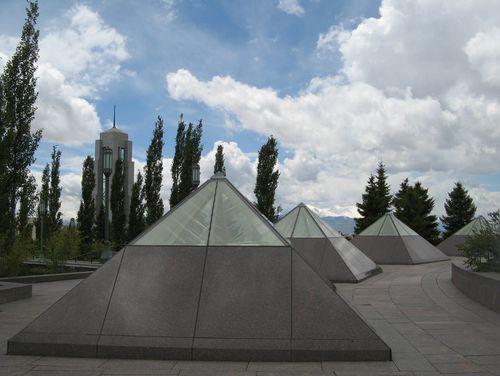 Temple-pyramids
